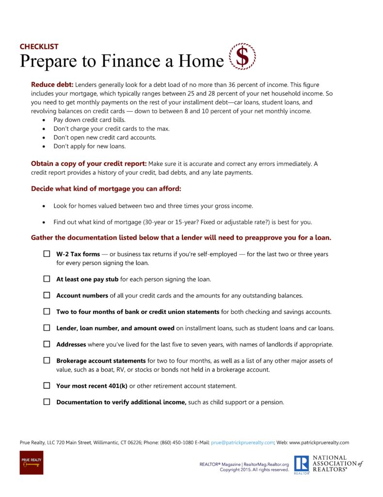 3 The Transaction 10 - Prepare to Finance a Home
